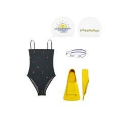 [리굿스]Sunshine 수영모자 White