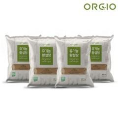 유기농 사탕수수 100% 비정제설탕 원당 유기농 황설탕 5kg x 4개