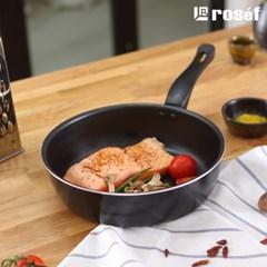 로제프 체리쉬 블랙 IH 2종세트 궁중팬 28cm 계란말이팬 인덕션 겸용
