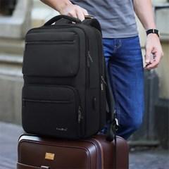남자 여자 남녀공용 가벼운 대학생 노트북 수납공간 백팩