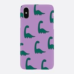 초록 공룡 패턴 하드케이스