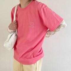 lover T-shirt pink