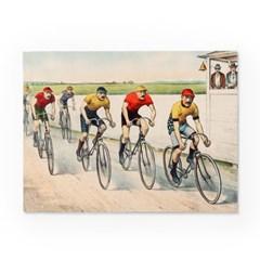 인테리어 패브릭 포스터_자전거대회