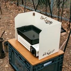 닥터캠프 접이식 스틸 바람막이 전용가방 포함