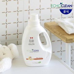 캐나다 에코크린 고농축 베이비 유아 액상세탁세제 1.1L