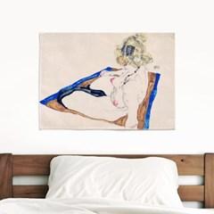 패브릭 포스터 명화 드로잉 그림 천 액자 에곤 쉴레 79