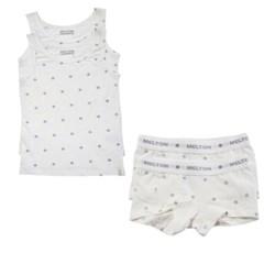 데이빗앤케이트 유아 속옷 내의 2세트 - 퍼플스타