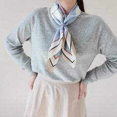 아방가르드 사각 스카프 (2 colors)