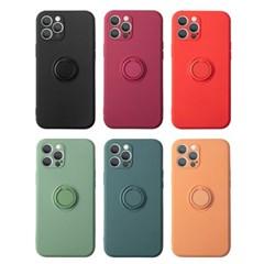 워너프 파스텔 RING 실리콘 휴대폰 케이스 (마그네틱 호환)