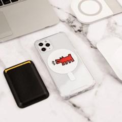 맥세이프 키스해링 디자인 케이스 아이폰 갤럭시 전기종