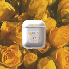 노랑꽃 에어팟케이스