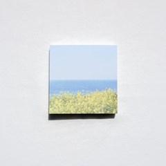 [메리필름] 봄꽃 감성을 담은 떡메모지 2종(유채꽃/벚꽃)
