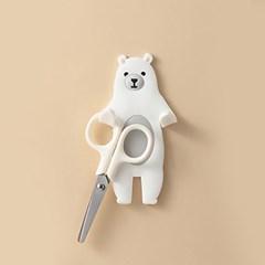 프리댄서 애니멀 접착식 후크 북극곰 구부러지는 후크
