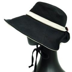 KAU18.뒷단추 여성 플로피햇 큰챙모자 벙거지 모자