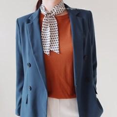 스칸디 패턴 트윌리 스카프 (2 colors)