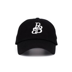 RBB 시그니처 로고 볼캡 블랙