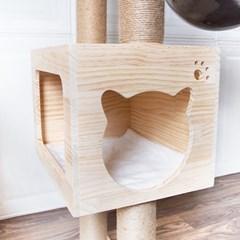 에코펫위드 고양이 캣타워 3단계용 140cm/O-04