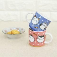 니코니코 캐릭터머그 잔 컵