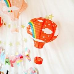 열기구 생일파티 장식세트(풍선)