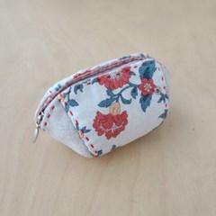 지퍼동전지갑만들기 만두 지갑패키지 원단랜덤