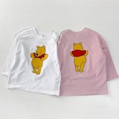 세) [디즈니정품] 푸우 아동 티셔츠-주니어까지