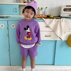 세) [디즈니정품] 미키3종 아동 상하세트-주니어까지
