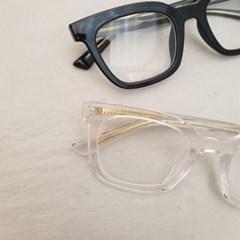 기본 심플 뿔테 투명한 도수없는 데일리 패션 안경