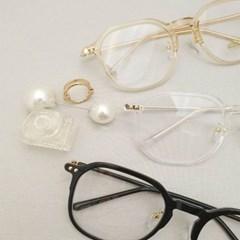 사각 기본 심플 투명한 도수없는 가벼운 패션 안경