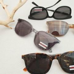 호피 브라운 도수없는 가벼운 데일리 패션 선글라스