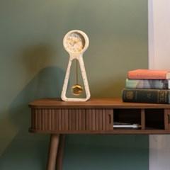 Pendulum Time clock -TERAZZO