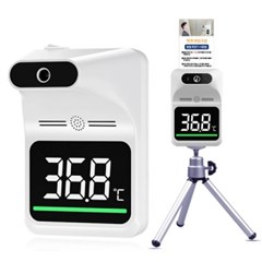 트래들 비대면 열감지 적외선 온도계 자동 측정기 스탠드 상품2