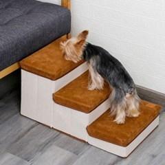 도그웨그 접이식 계단 스텝 강아지 슬개골 보호