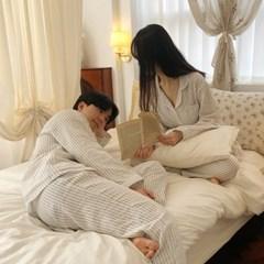 [공장직영] 고퀄 우븐 순면 100% 고퀄리티 커플 잠옷