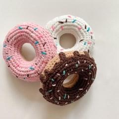 도넛츠 삑삑 바스락 장난감 강아지 삑삑이