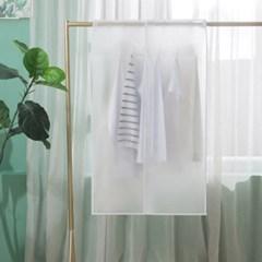 먼지 완벽 차단 투명 행거 옷 커버 가리개 3size