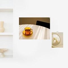 Table (책상)  / A4 감성 미니포스터