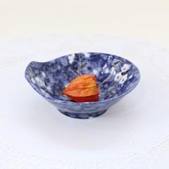 블루벚꽃 도자기식기