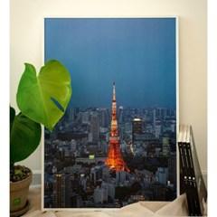 [크롭크롭] Tokyo Tower Poster (A2)