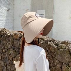 퍼비르 여성 빈티지 햇빛 자외선차단 썬캡 벙거지_(2550424)