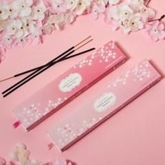 체리 블라썸 벚꽃 인센스 스틱 20개입