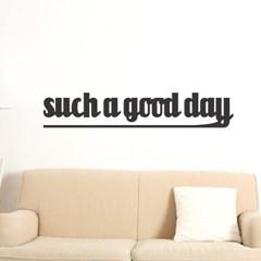 Such a good day 감성 레터링 인테리어 스티커