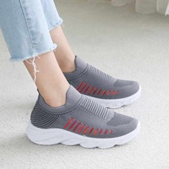 kami et muse Glitteirng point knit sneakers_KM21s089
