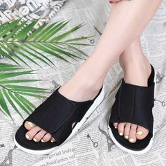 kami et muse Velcro top daily slippers_KM21s088