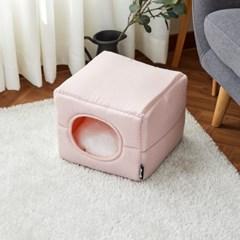 [모던하우스] 펫본 접으면 쿠션이 되는 캣하우스 핑크
