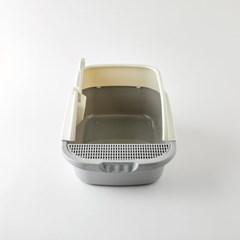 [모던하우스] 펫본 쾌적한 고양이 화장실 L 오픈형 모래