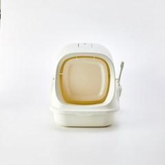 [모던하우스] 펫본 아늑한 고양이 화장실 도어형 모래삽