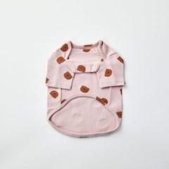 [모던하우스] 펫본 문곰이 실내복 핑크 L
