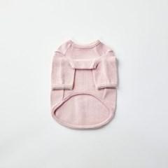 [모던하우스] 펫본 순면 레이스자수 실내복 핑크 M
