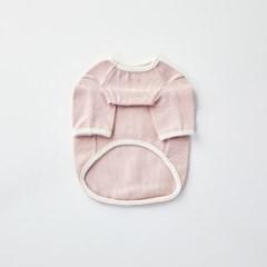 [모던하우스] 펫본 솔리드 실내복 핑크 XL