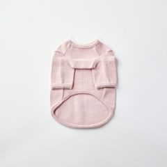[모던하우스] 펫본 순면 레이스자수 실내복 핑크 S